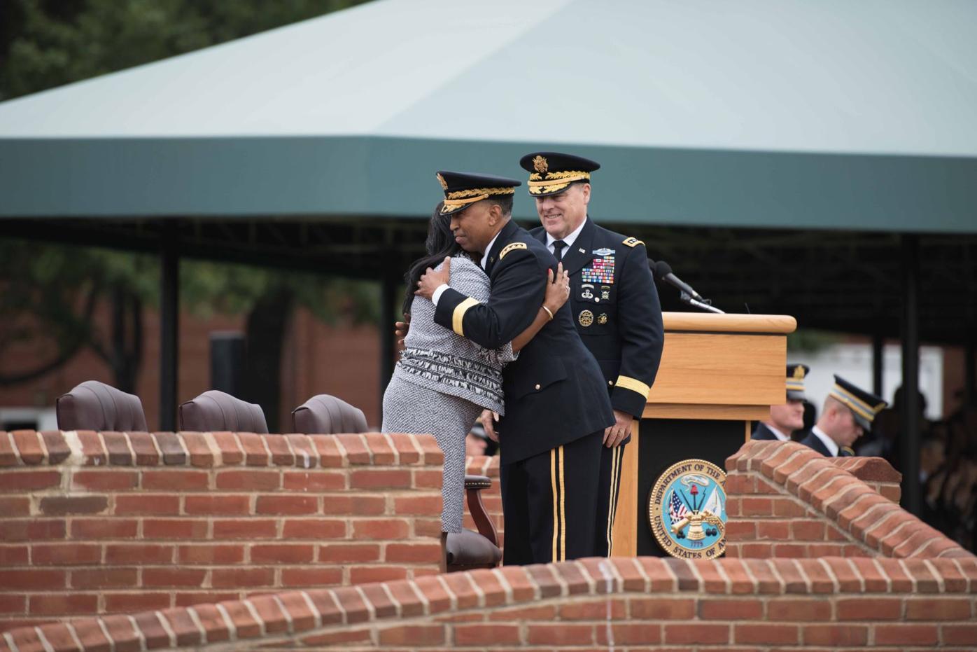 General Dennis L. Via retires