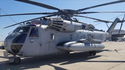 Marines complete CH-53E maintenance overhaul, increasing fleet readiness