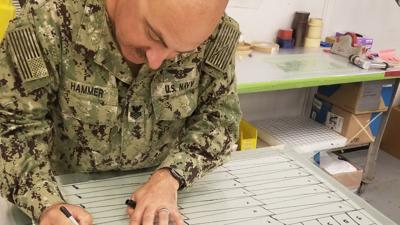 FRCW Sailor earns first depot level certification