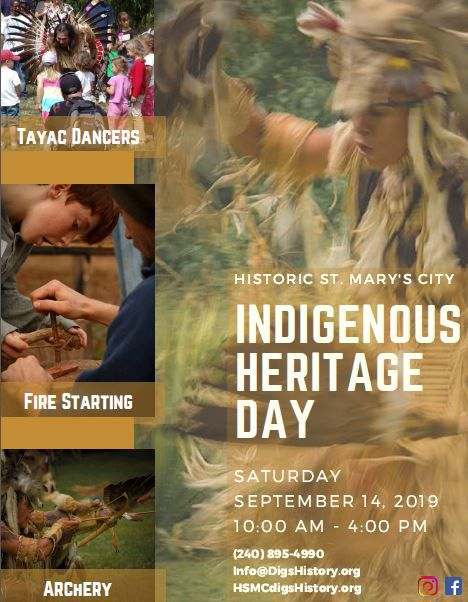 Indigenous Heritage Day at Historic St. Mary's City
