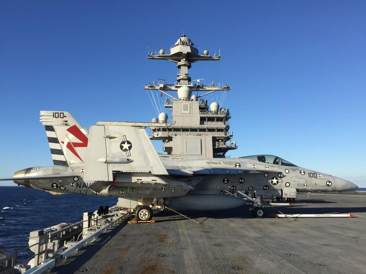 CVN 78 completes Aircraft Compatibility Testing One