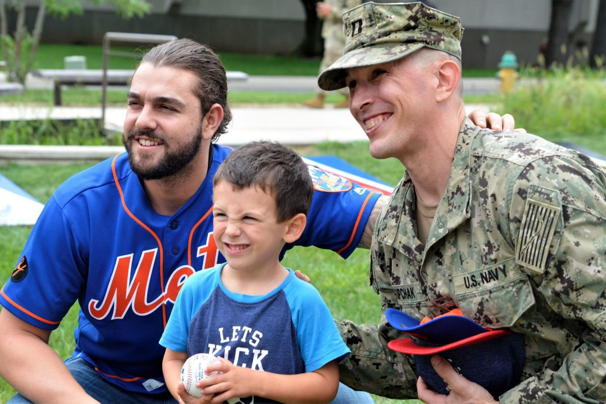 Mets Make Amazing Visit To Mdws Nsa Bethesda Local Dcmilitary