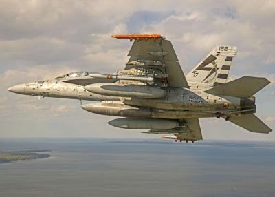 F/A-18, AARGM-ER flight completed with separation test vehicle