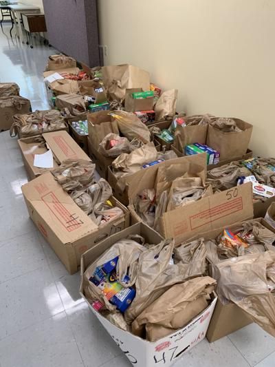 Food drive donations surpass expectation
