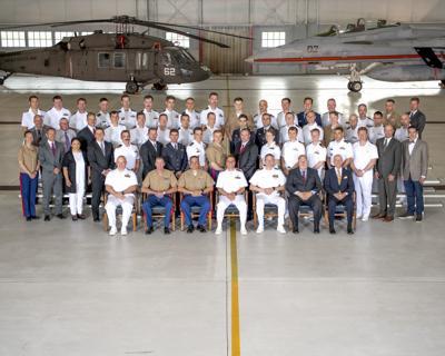 U.S. Naval Test Pilot School Class 155 graduation