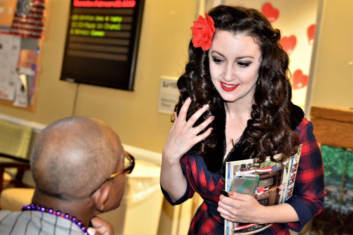 Morale Boosting Veterans Turned Pin Ups Visit Dc Local