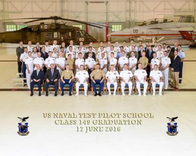 U.S. Naval Test Pilot School graduates Class 149