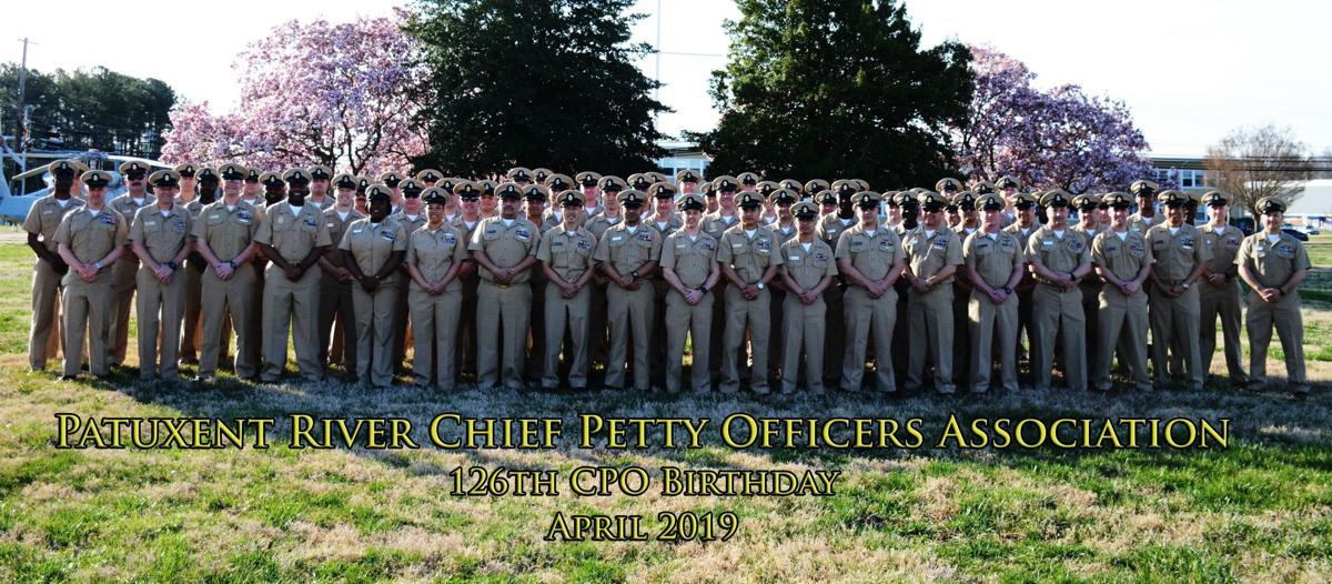 CPOs at Pax River gather for celebratory 126th birthday photo