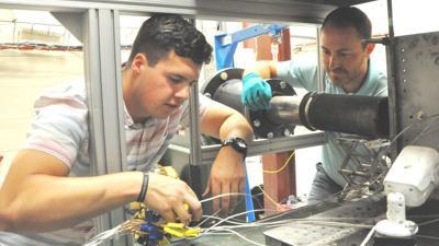 Naval Academy midshipman sees fleet's future at Dahlgren laser lab