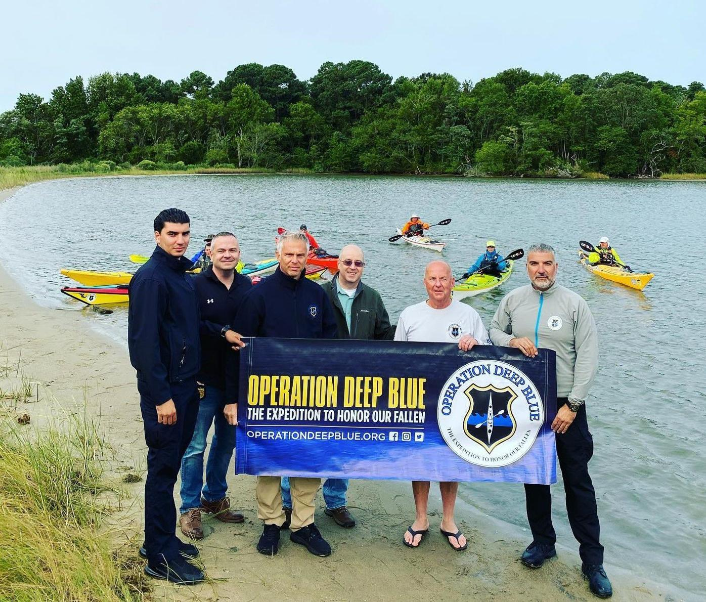 Kayaking to raise money for families of fallen heroes