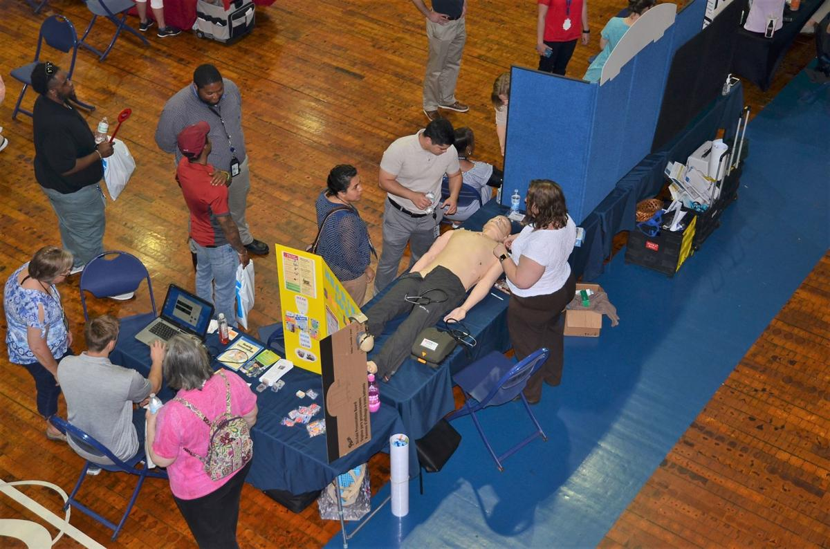 Expo features health and wellness resources, information
