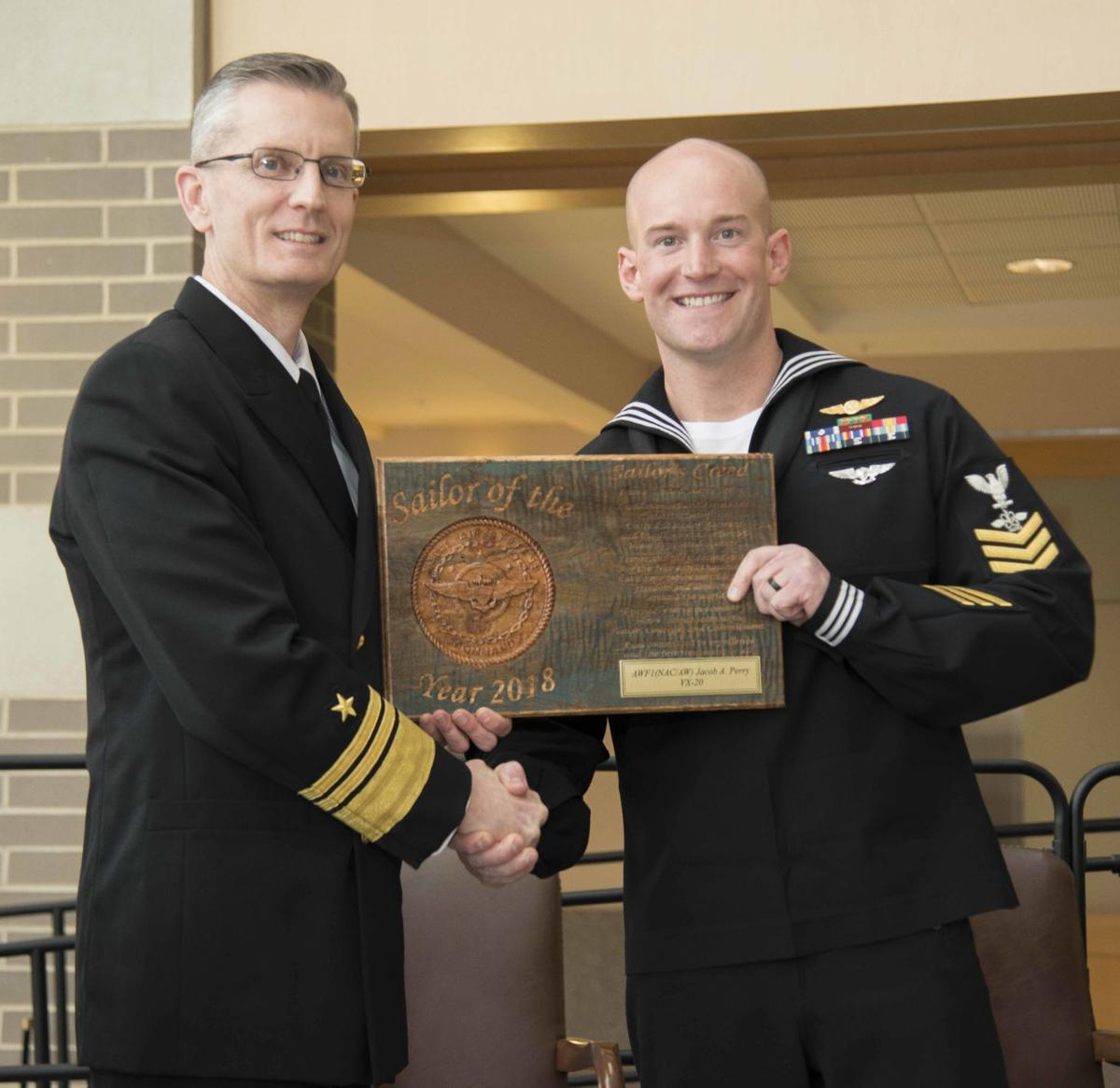 VX-20's Perry named NAVAIR Sailor of the Year