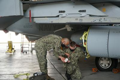Sailors put new jammer maintenance plans to the test