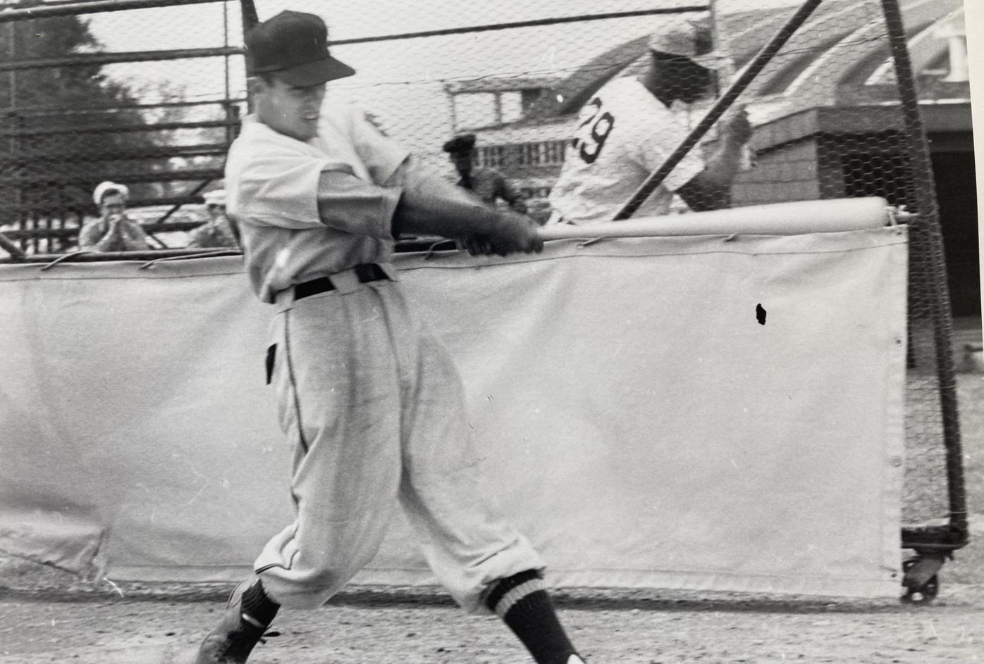 The day Pvt. Willie Mays threw out my dad