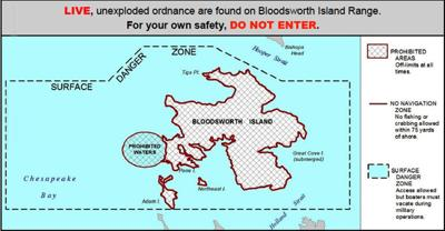Bloodsworth Island Range and surrounding waters off limits ...