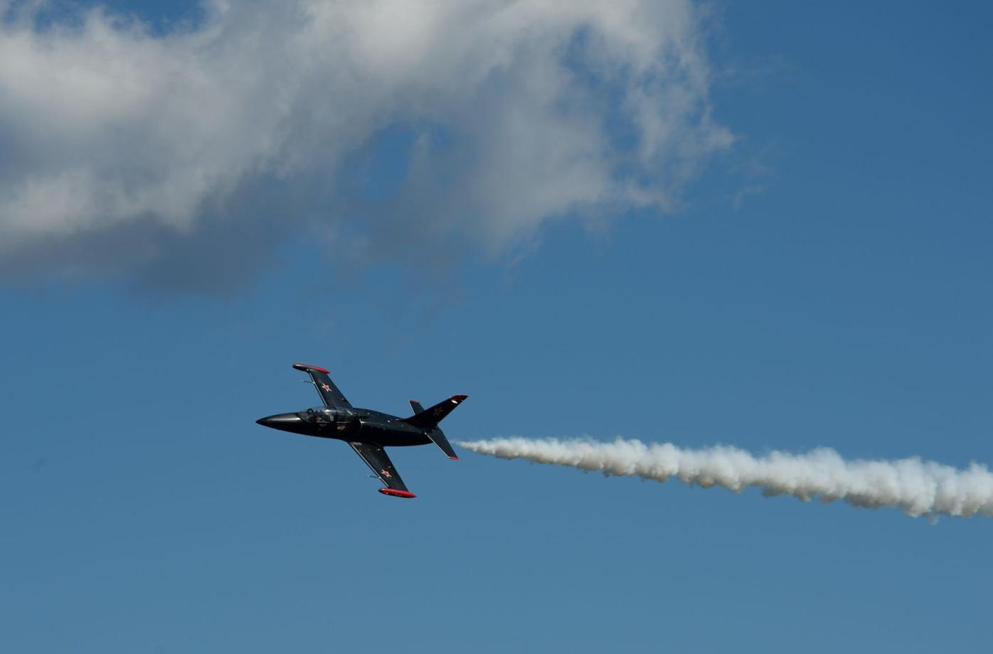 Test pilots honor first responders at airport anniversary celebration