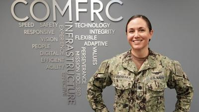 First female Full Time Support Aerospace Maintenance Duty Officer selected for captain
