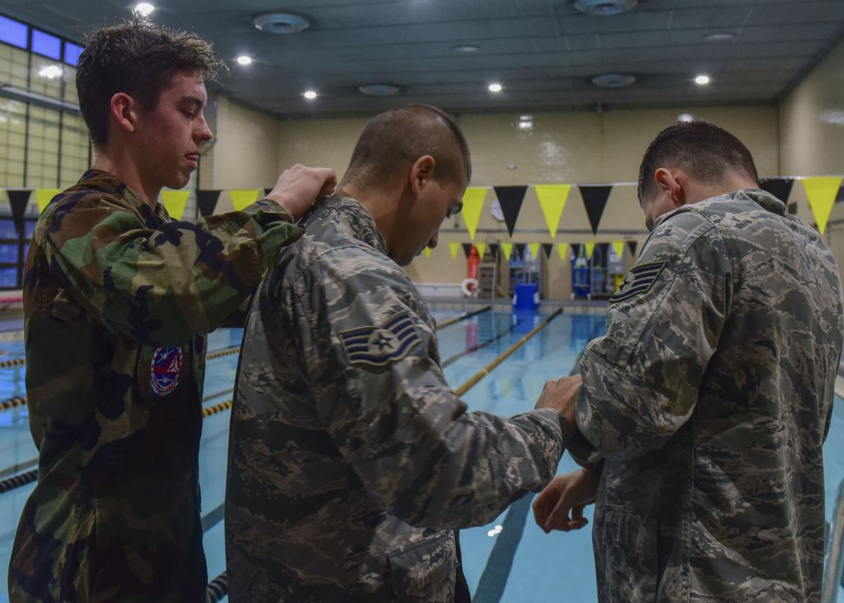 JBLE Airman overcomes struggle by paying it forward