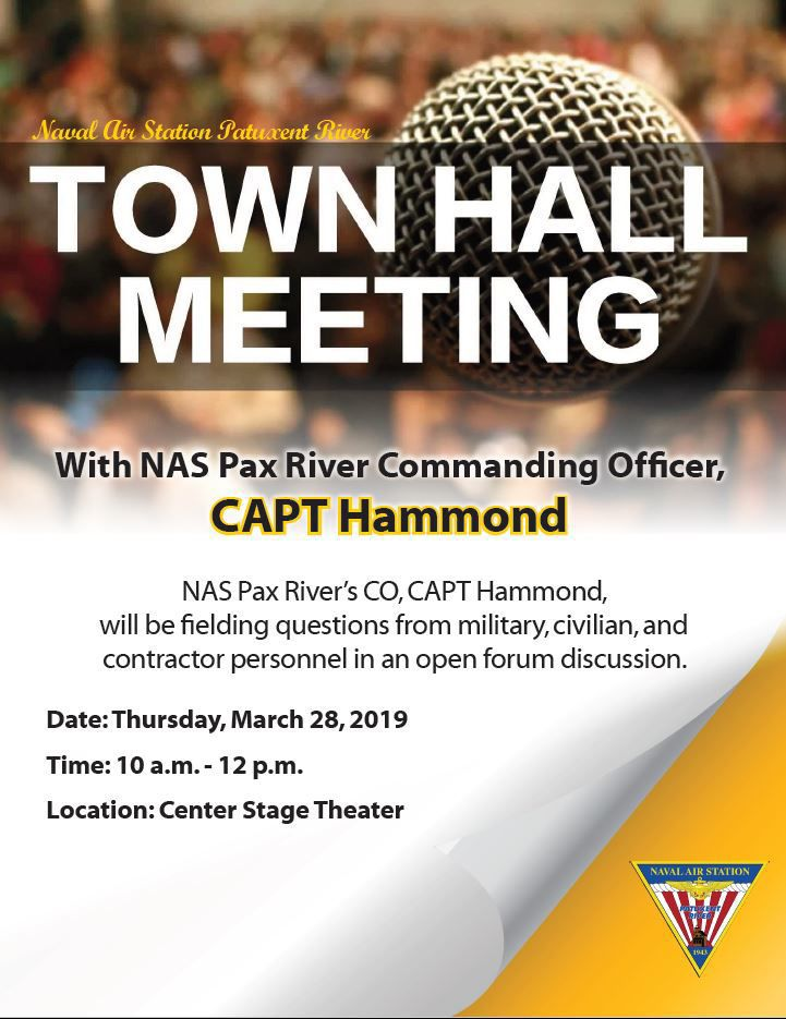 Town Hall with Pax River CO
