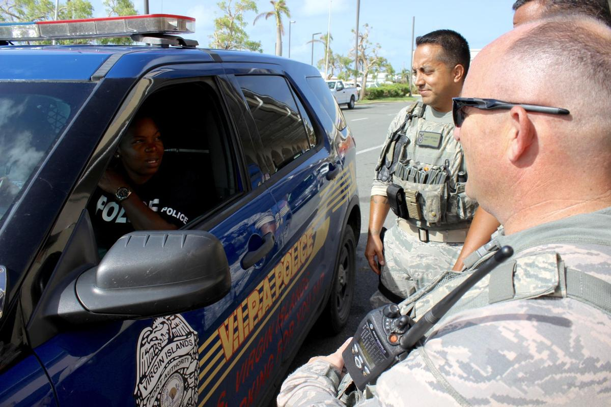 National Guard MPs and SFs fight criminal activity post-hurricane