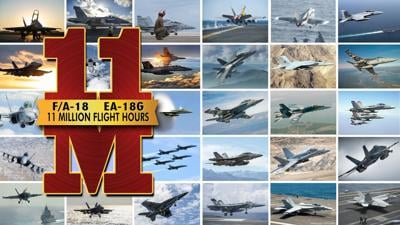F/A-18, EA-18G to hit 11 millionth flight hour mark