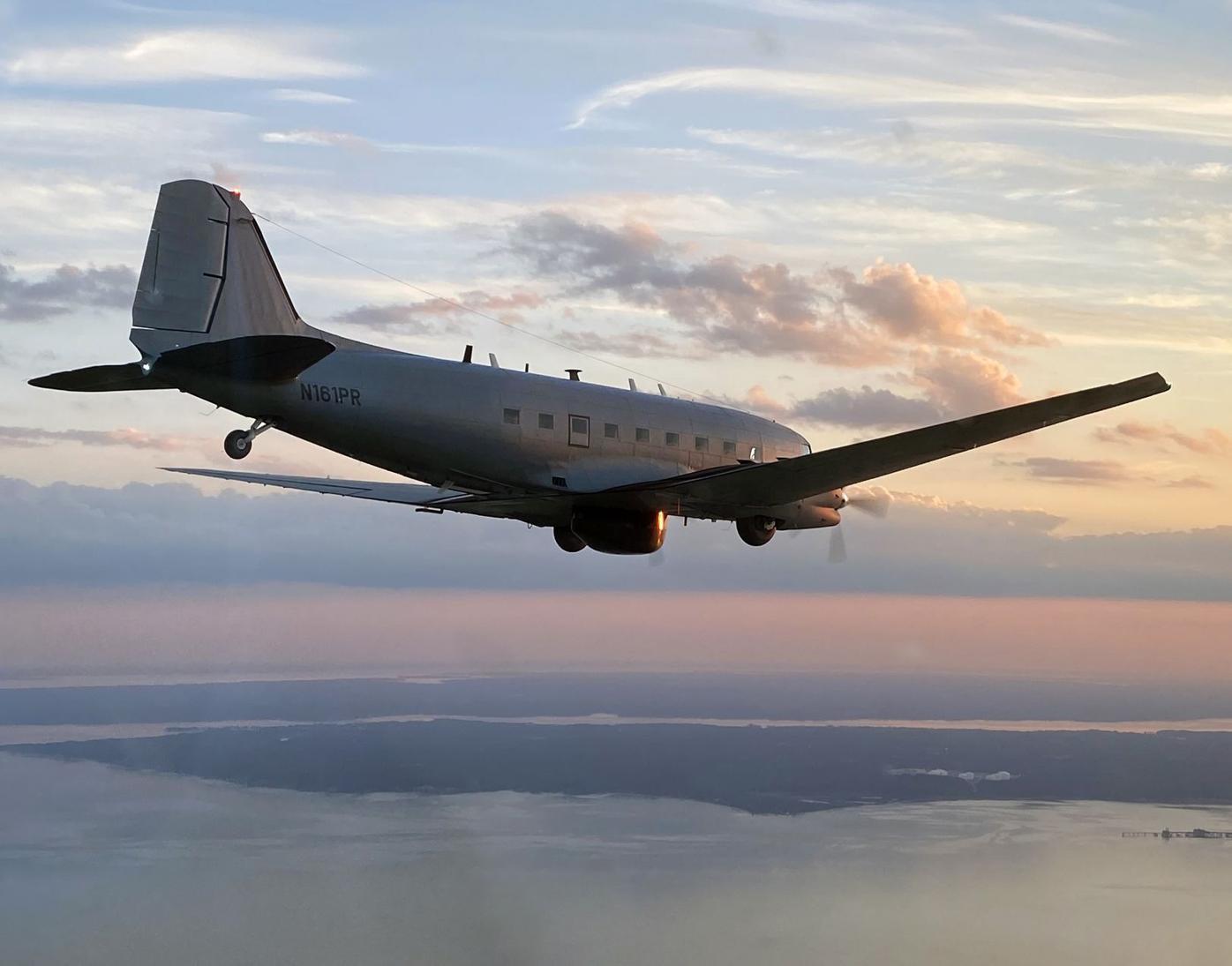 WW II aircraft flies again for NAWCAD