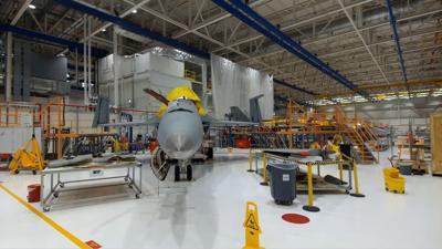 First jet to undergo Service Life Modification returns to Navy