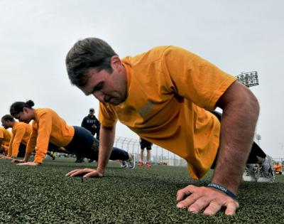 The Navy's new fitness test is here