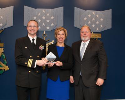 USNTPS named top innovator in T&E at Pentagon awards ceremony