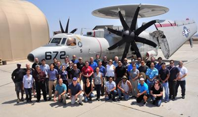 FRCSW returns first E-2D Hawkeye to complete PMI-2