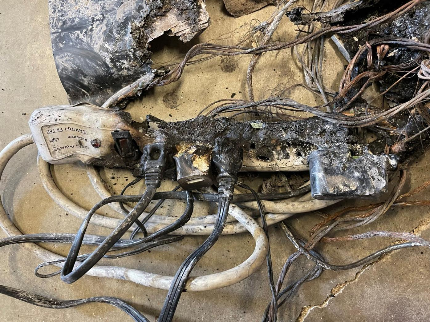 Office fire prompts reminder of electrical, personal safety