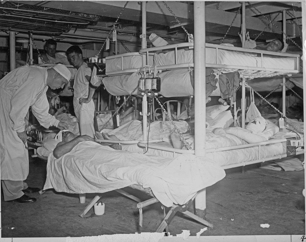 Navy hospital ships have history of answering nation's call