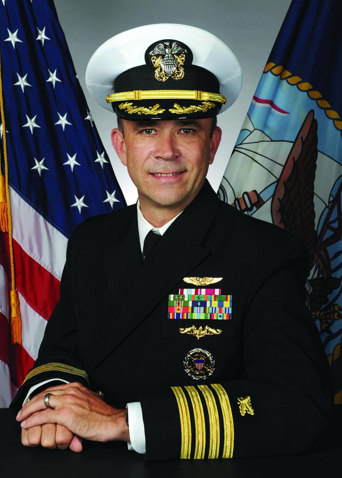 Capt. Mark Runstrom,  Commanding Officer