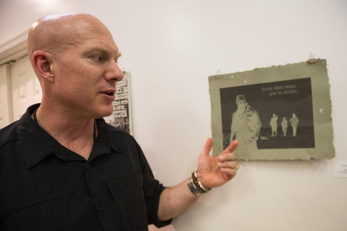 Service Members' Art Exhibit and Reading