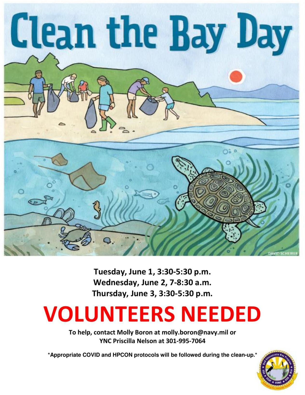 Clean the Bay Day volunteers needed