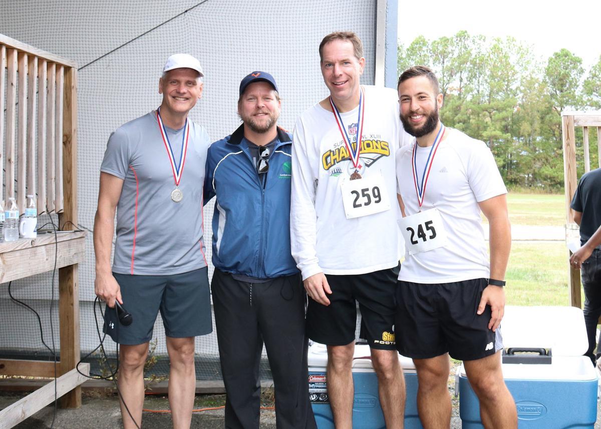 Top finishers in Webster Field Fun Run