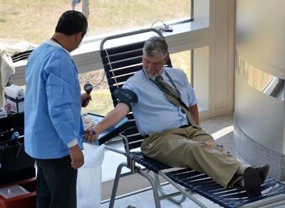 Make a life-saving contribution at the Armed Services Blood Drive
