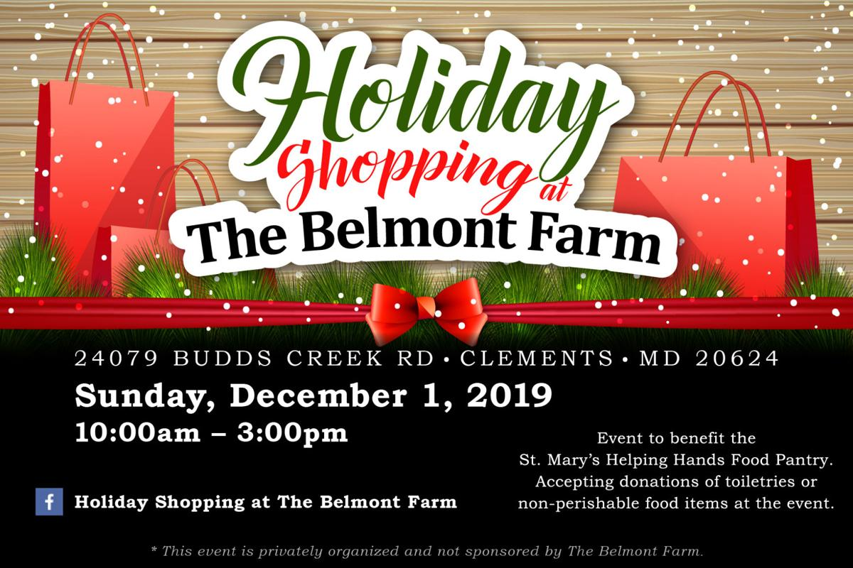 Belmont Farm shopping event
