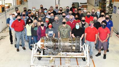 FRCE's T64 engine team wins NAVAIR Commander's Award