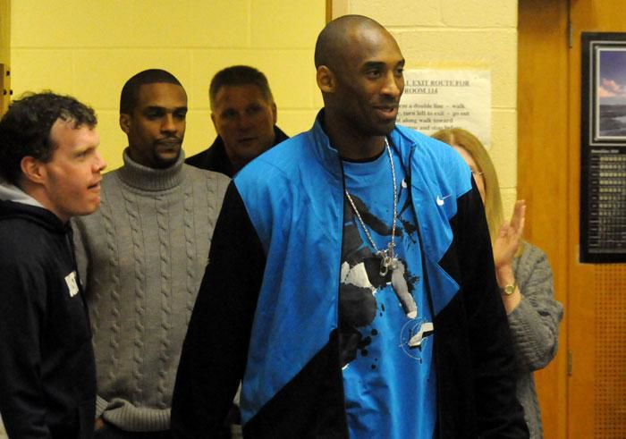 Kobe Bryant coming home to Lower Merion to dedicate gym (With Video)