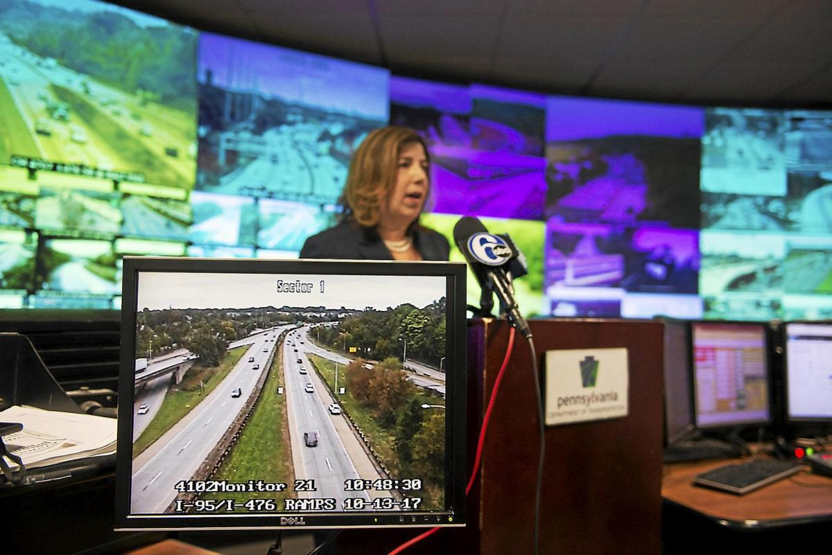 Penndot Solution To Blue Route Backups Drive On The Shoulder News Delcotimes Com