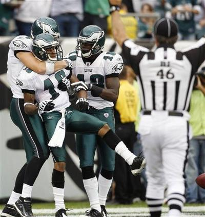 Maclin ready to make most of first start with Eagles