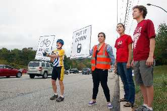 Area bicyclists launch new safety campaign