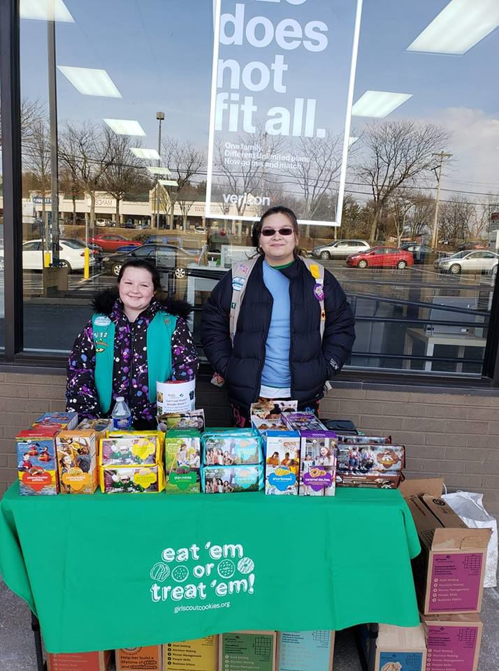 This year's Girl Scout Cookie drive helps community show gratitude to local first responders