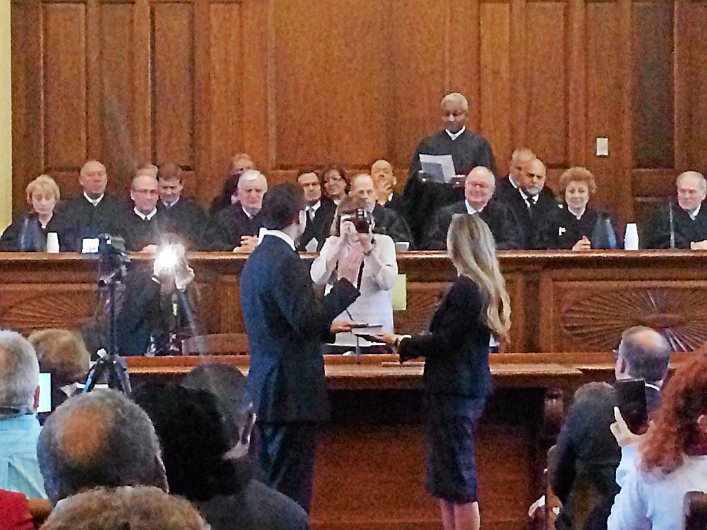 'There will be no turning back' as 2 Dems take oath, join Delaware County Council