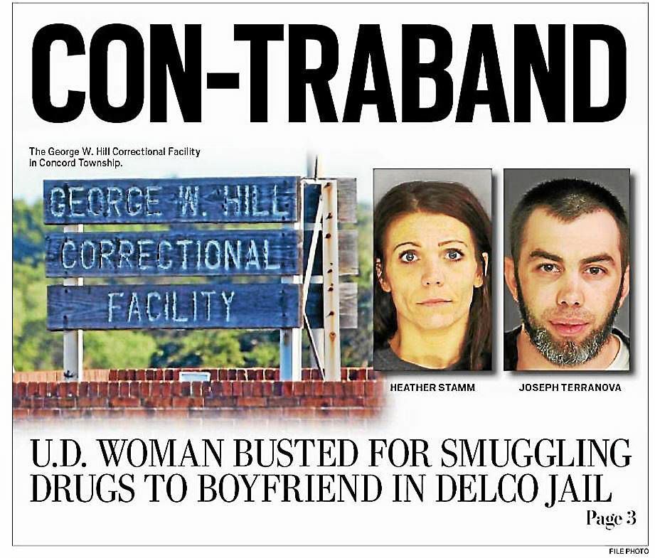 Drexel Hill Woman Inmate Boyfriend Face Charges In Prison Drug