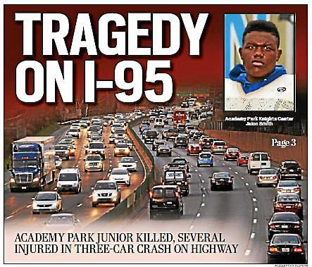 Academy Park junior killed, six others hurt in crash on I-95 | News