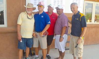 Foursome squeezes Devil's Thumb course for 53 and Rotary win