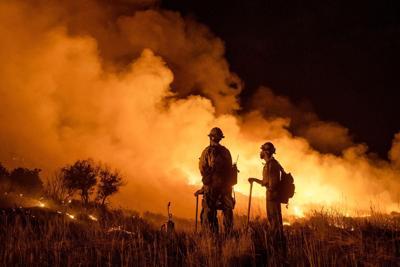 Firefighters Pine Gulch