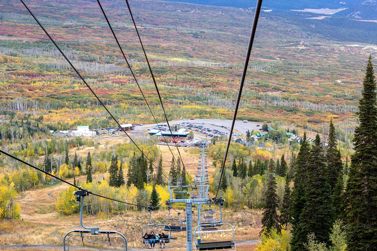 Powderhorn ski resort's lifts